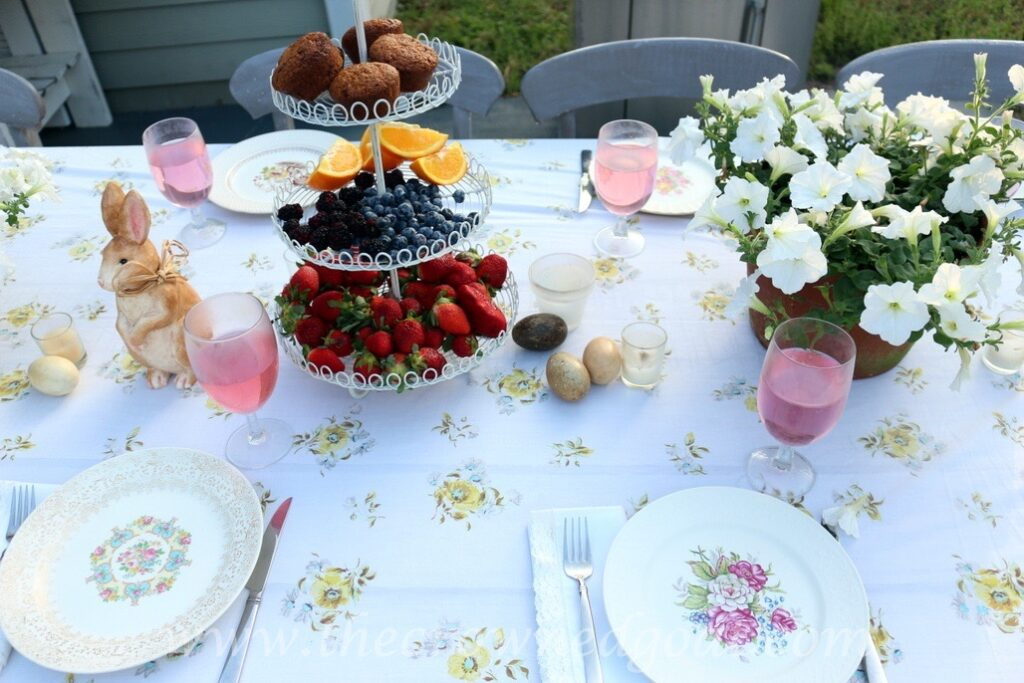 031716-2-1024x683 Vintage Inspired Spring Tablescape Decorating DIY Spring