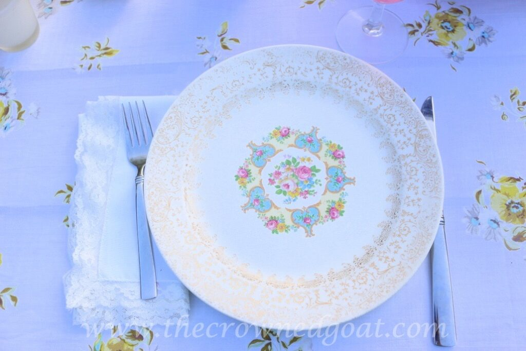 031716-4-1024x683 Vintage Inspired Spring Tablescape Decorating DIY Spring
