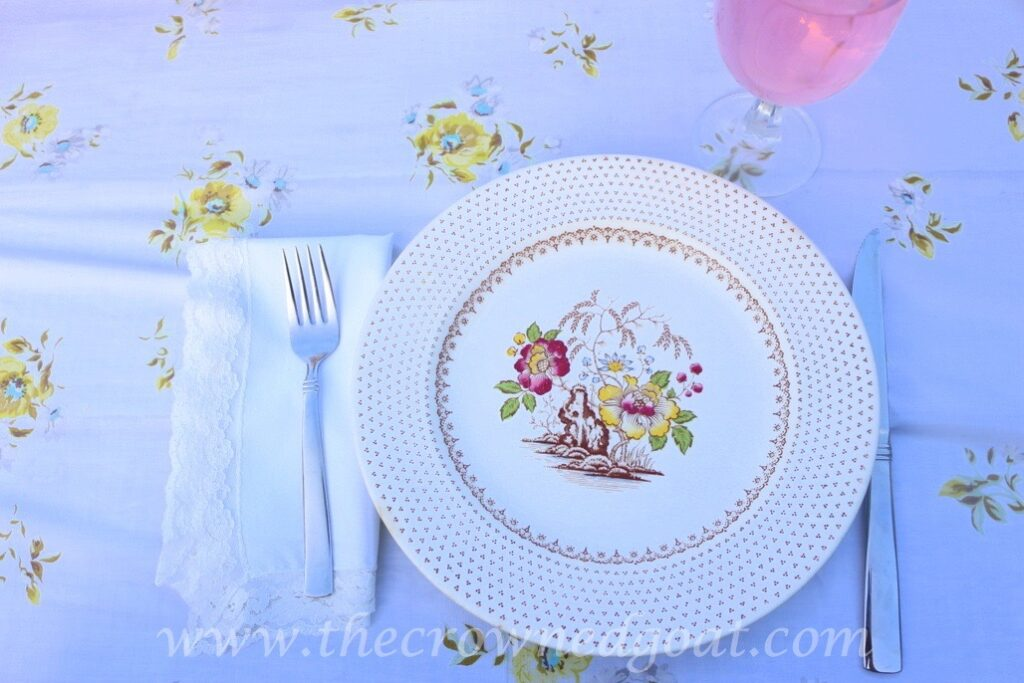 031716-7-1024x683 Vintage Inspired Spring Tablescape Decorating DIY Spring