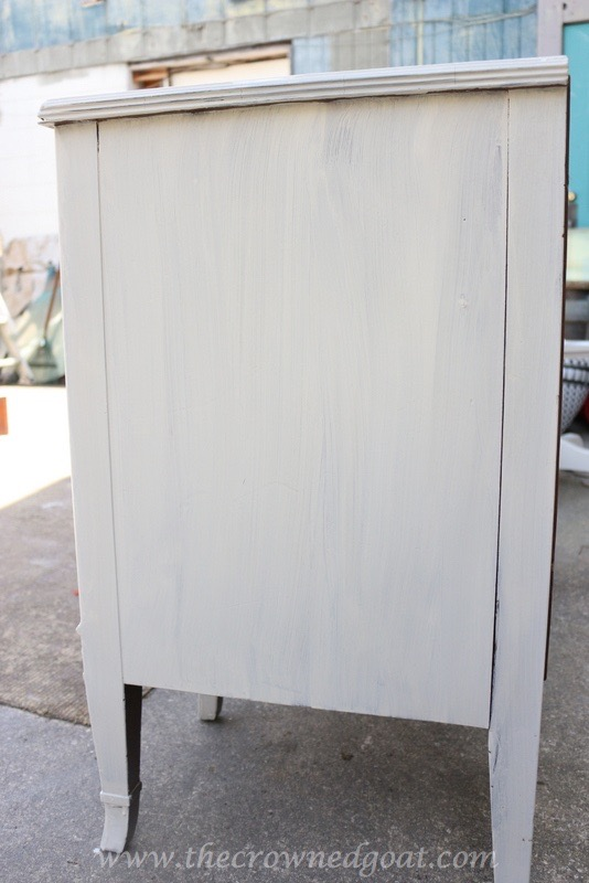 040416-4 ASCP Custom Gray Desk Painted Furniture Vendor Spaces