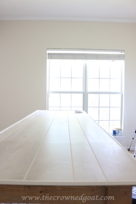 041916-13 Office Work Island DIY Painted Furniture
