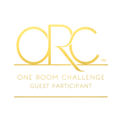 ORC-Logo One Room Challenge Week 5 Progress Update DIY