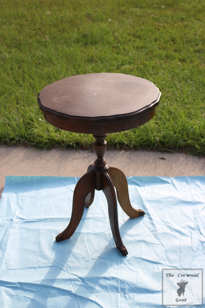 050916-2-682x1024 End Table and Side Table Painting Tips DIY Painted Furniture