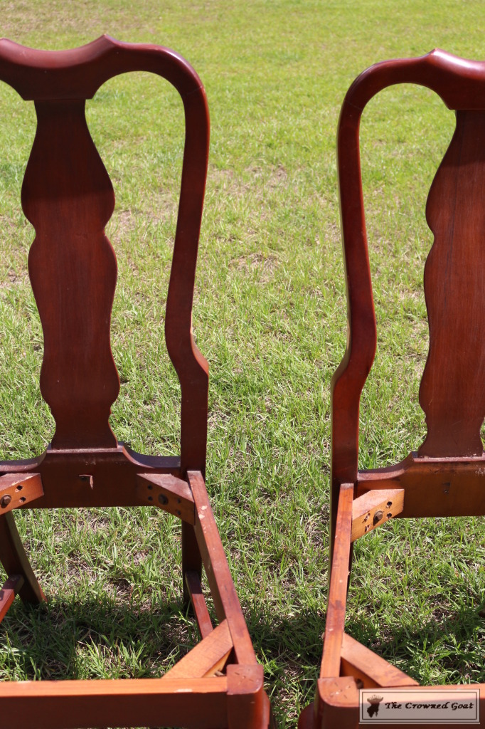 062416-31-682x1024 Creating a Bench from Dining Chairs DIY Painted Furniture