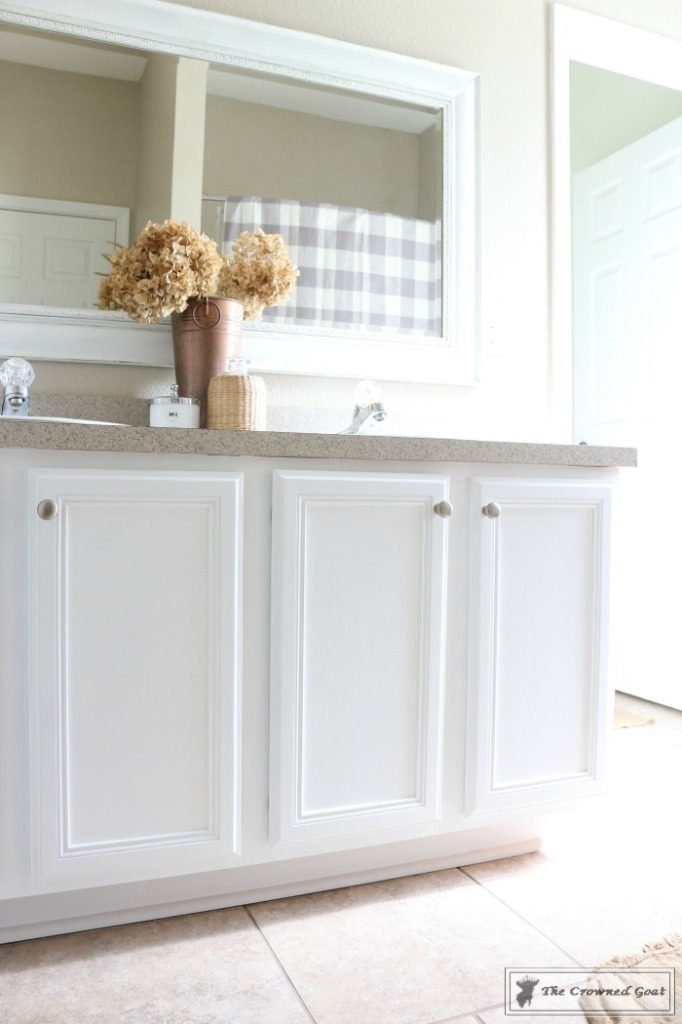 072216-20-682x1024 Painting a Bathroom Cabinet with General Finishes Milk Paint DIY Painted Furniture