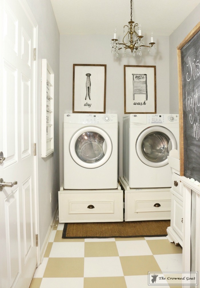 5-Steps-to-a-More-Organized-Laundry-Room-1 5 Steps to a More Organized Laundry Room   Decorating DIY Organization