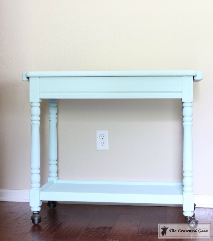Beach Cottage Inspired Painted Table - 7