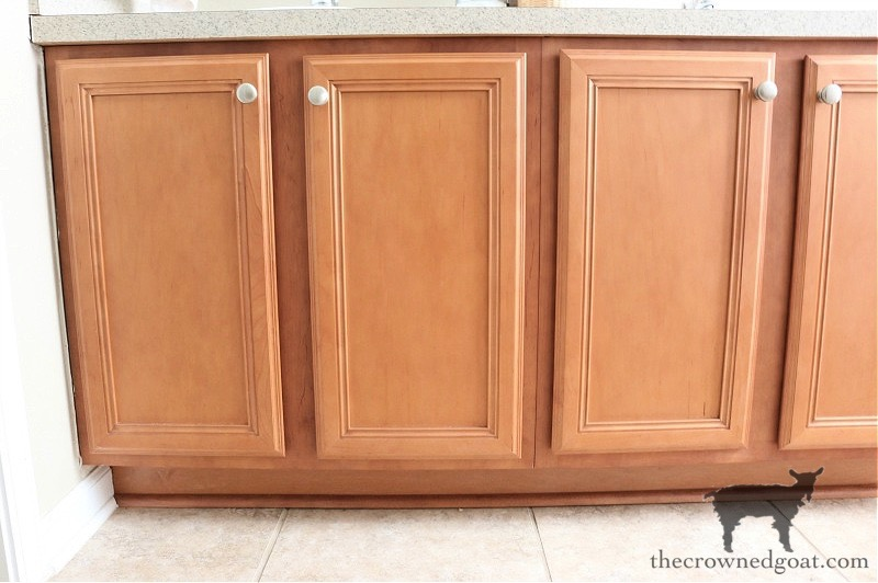 How-to-Paiint-a-Bathroom-Cabinet-with-Milk-Paint-The-Crowned-Goat-2 How to Paint a Bathroom Cabinet with Milk Paint DIY One_Room_Challenge Painted Furniture