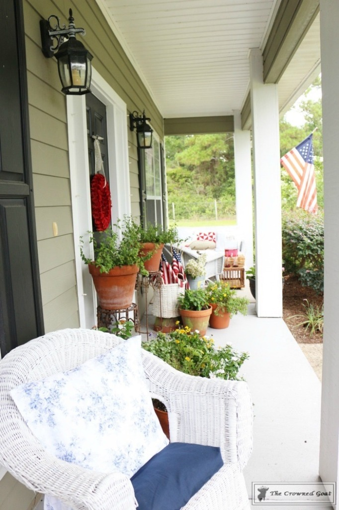 Patriotic-Summer-Porch-18-682x1024 Patriotic Summer Porch Tour Decorating DIY Summer