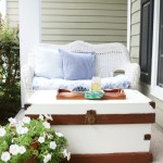 Updating-a-Vintage-Trunk-with-Exterior-Paint-9 Painted Furniture