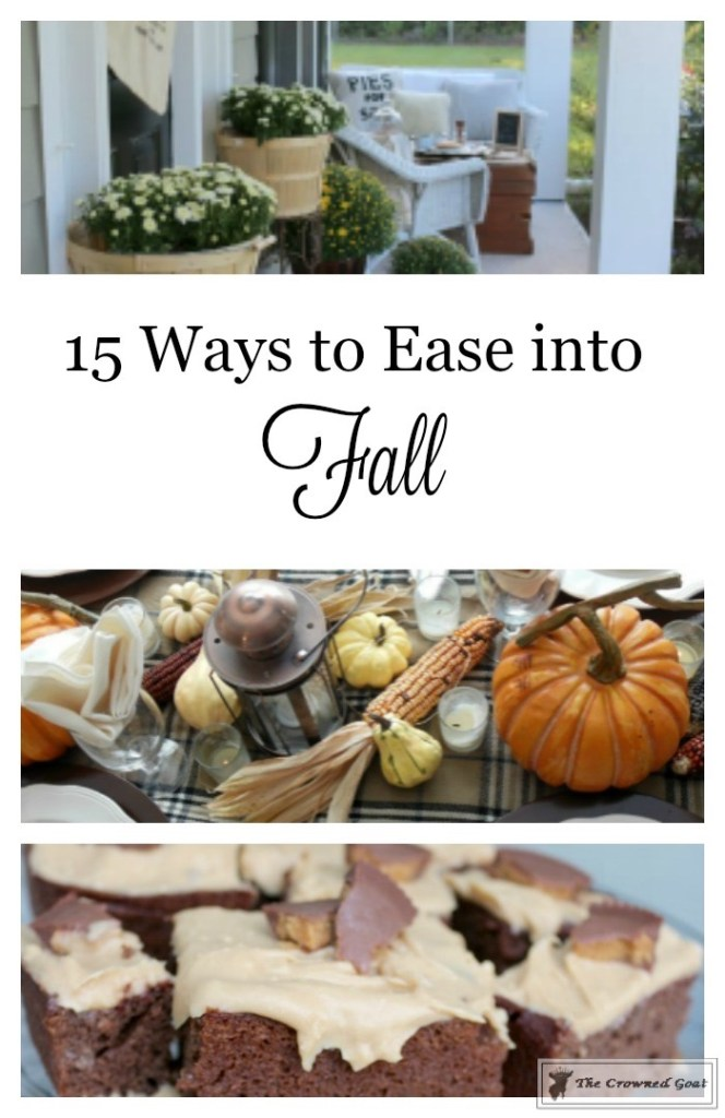 15 Ways to Ease into Fall-The Crowned Goat