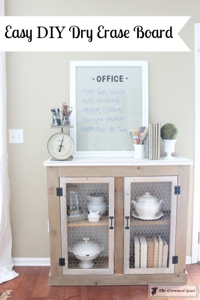 Easy DIY Dry Erase Board-19