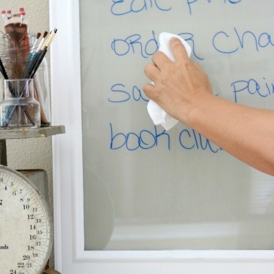 Easy to Make DIY Dry Erase Board
