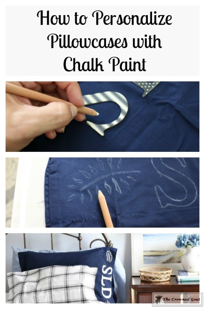 Personalize Pillowcases with Chalk Paint-1