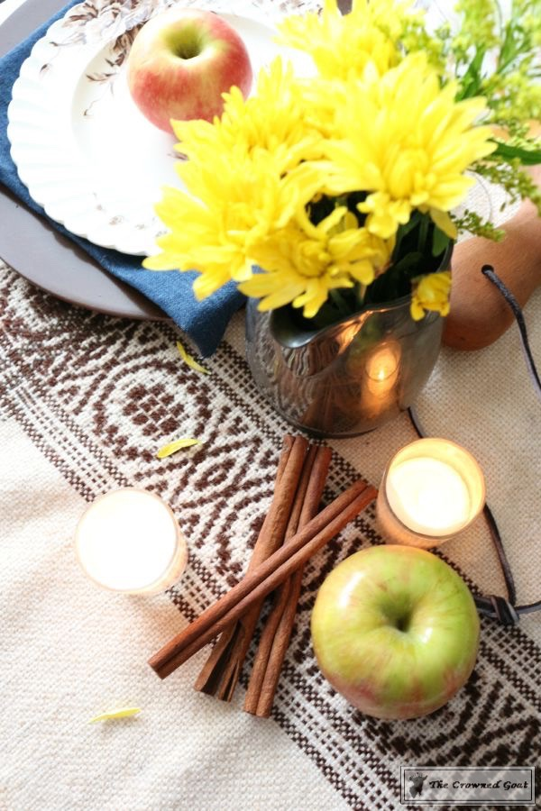 Fall-Apples-Home-Tour-13 Decorating for Fall with Apples Decorating DIY Holidays