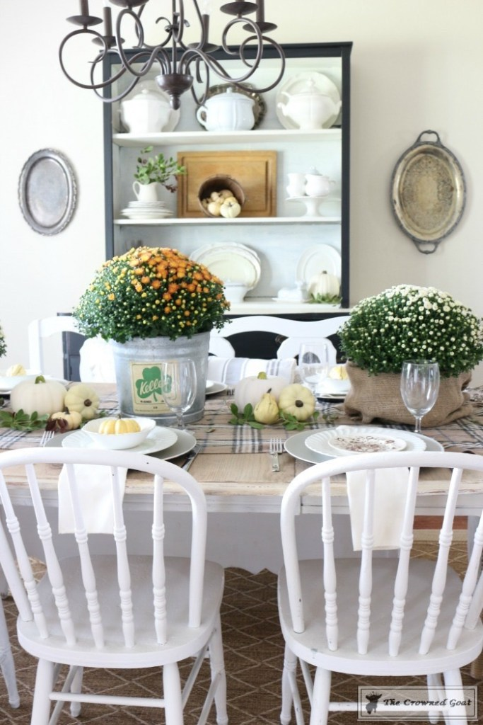 Fall-Decorating-in-the-Dining-Room-12-683x1024 The Busy Girl's Guide to Fall Decorating: The Dining Room Decorating DIY Fall Holidays