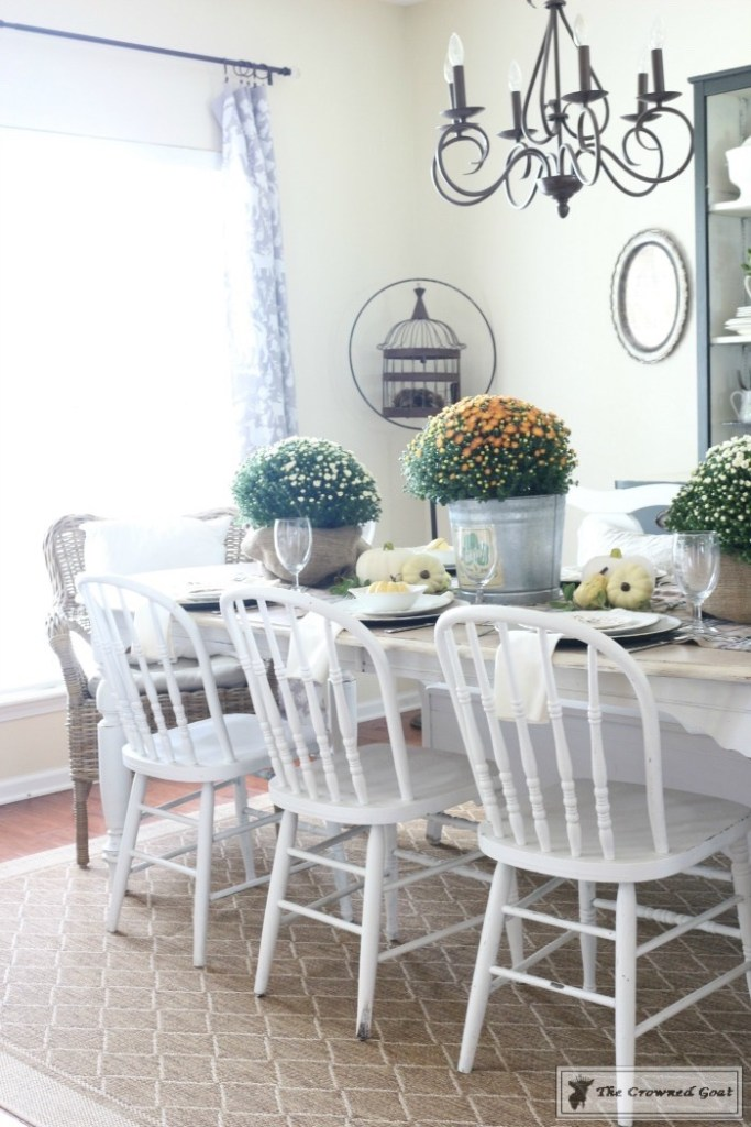 Fall-Decorating-in-the-Dining-Room-2-683x1024 The Busy Girl's Guide to Fall Decorating: The Dining Room Decorating DIY Fall Holidays