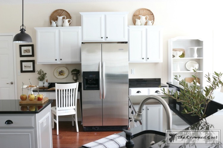 Farmhouse-Kitchen-Makeover-Reveal-19 A Simple Cottage Kitchen Makeover: The Reveal Decorating DIY Painted Furniture