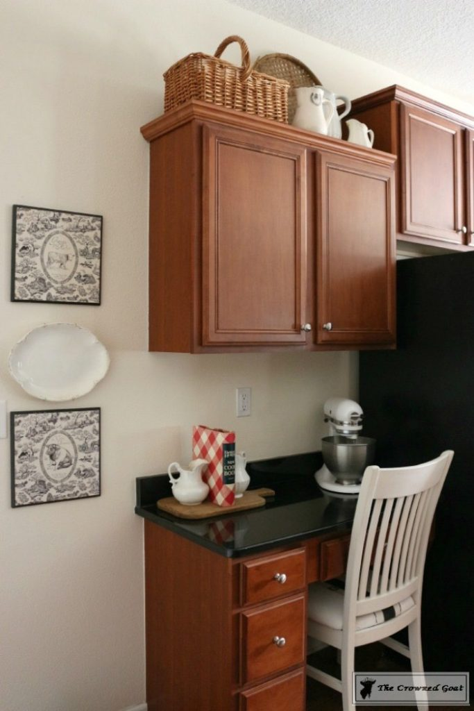 Farmhouse-Kitchen-Makeover-Reveal-2-683x1024 A Simple Cottage Kitchen Makeover: The Reveal Decorating DIY Painted Furniture