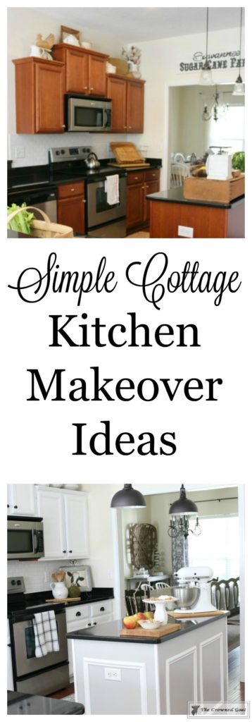 Farmhouse-Kitchen-Makeover-Reveal-20-358x1024 A Simple Cottage Kitchen Makeover: The Reveal Decorating DIY Painted Furniture