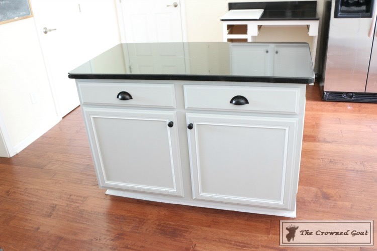 How-to-Cusomize-a-Kitchen-Island-9 How to Customize a Kitchen Island on a Budget DIY Painted Furniture