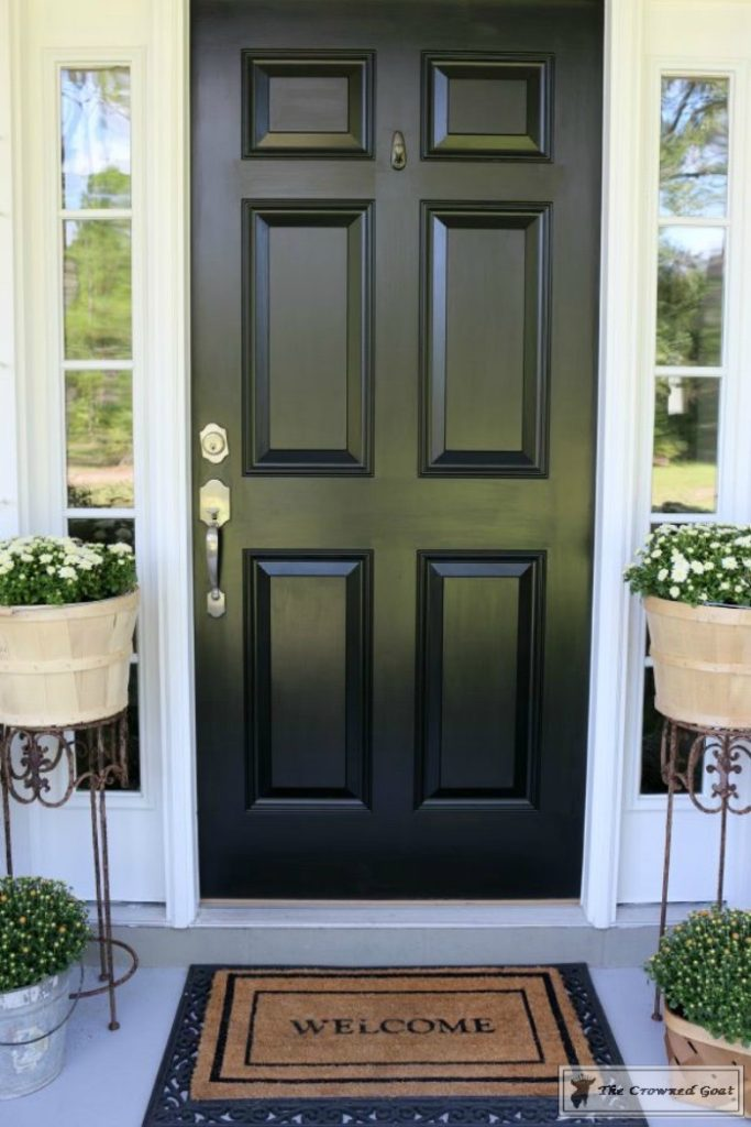 Front-Door-Paint-Review-4-683x1024 Modern Masters Front Door Paint: One Year Later DIY