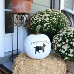 How to Personalize Pumpkins with Paint