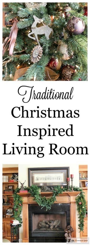 Bliss-Barracks-Traditional-Christmas-Tree-Living-Room-1-377x1024 Traditional Christmas Living Room at Bliss Barracks Christmas DIY Holidays