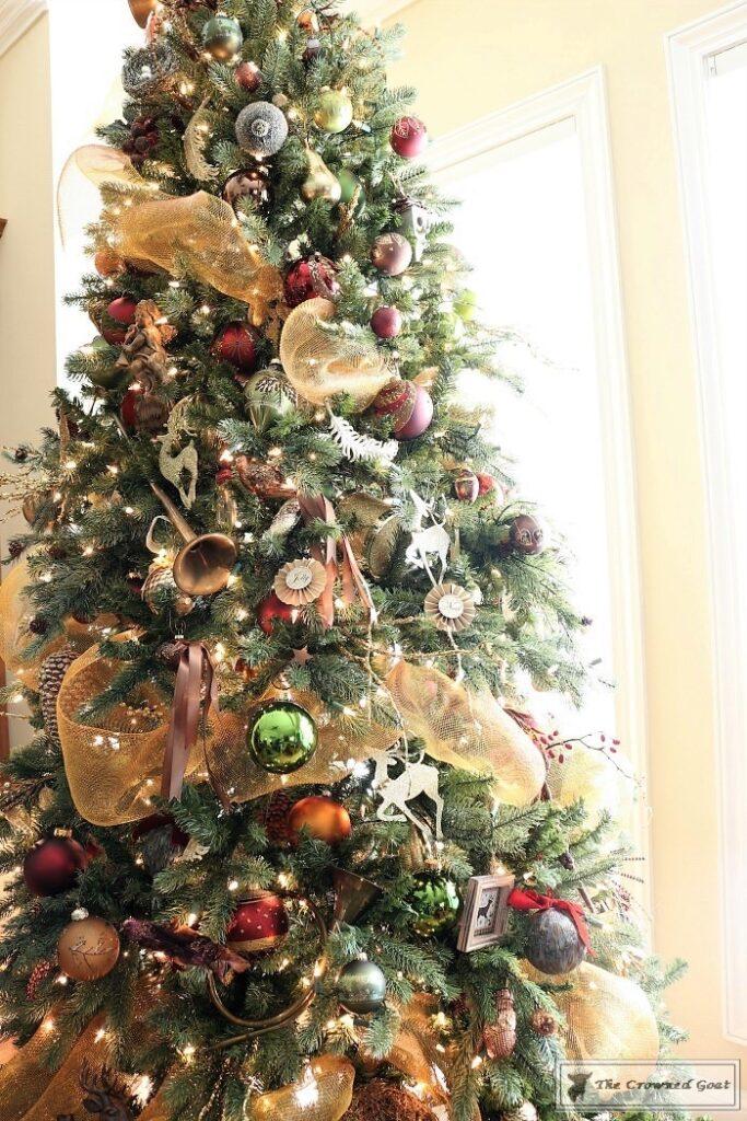 Bliss-Barracks-Traditional-Christmas-Tree-Living-Room-3-683x1024 Traditional Christmas Living Room at Bliss Barracks Christmas DIY Holidays