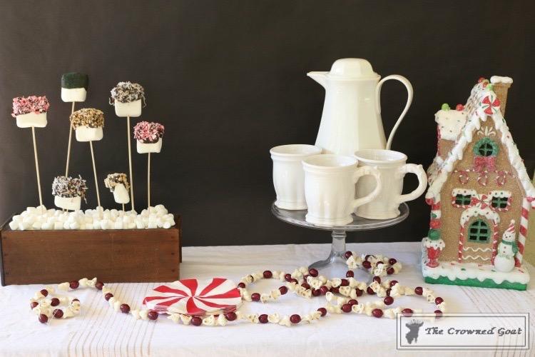 Easy-Marshmallow-Bar-18 Easy Marshmallow Bar Christmas DIY Holidays