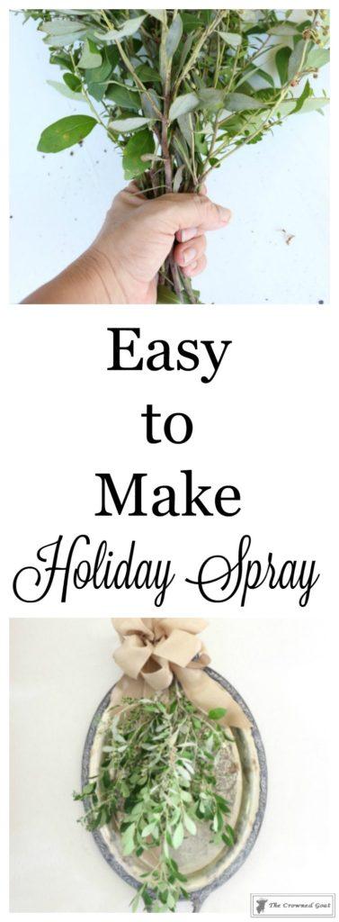Easy-to-Make-Holiday-Spray-1-377x1024 Creating a Simple Holiday Spray DIY Holidays
