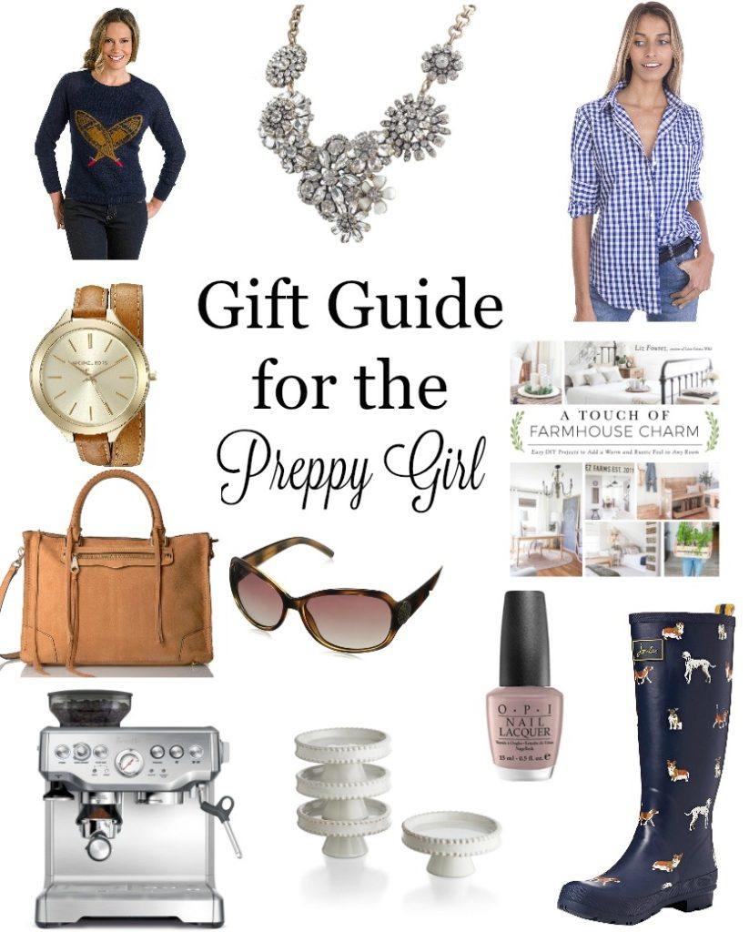 Gift-Guide-for-the-Preppy-Girl-823x1024 2016 Holiday Gift Guide Christmas DIY Holidays