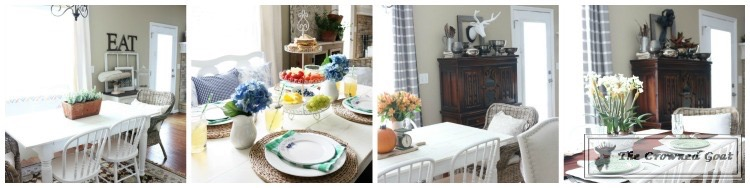 "Changing-Tablescape-in-the-Breakfast-Nook Behind the Scenes with ""S"" DIY"