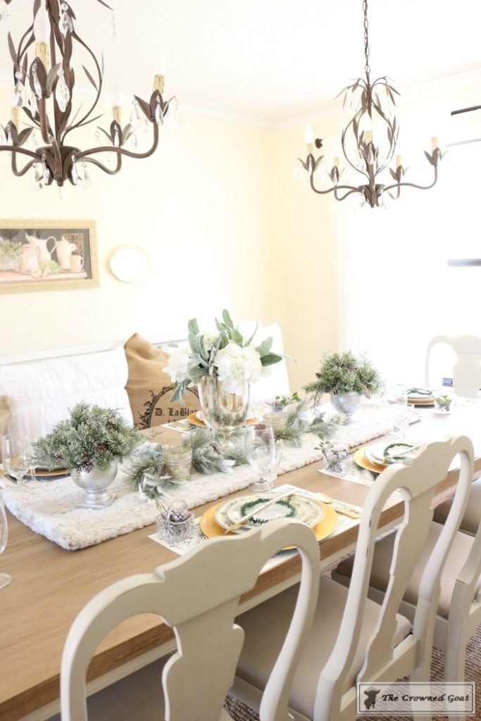 Christmas-in-the-Dining-Room-12-683x1024 Christmas Dining Room at Loblolly Manor Christmas Decorating Holidays