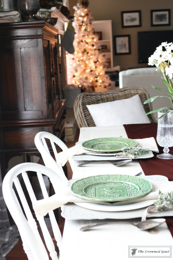 Nature-Inspired-Christmas-Breakfast-Nook-3-683x1024 Nature Inspired Christmas Breakfast Nook Christmas Decorating DIY Holidays