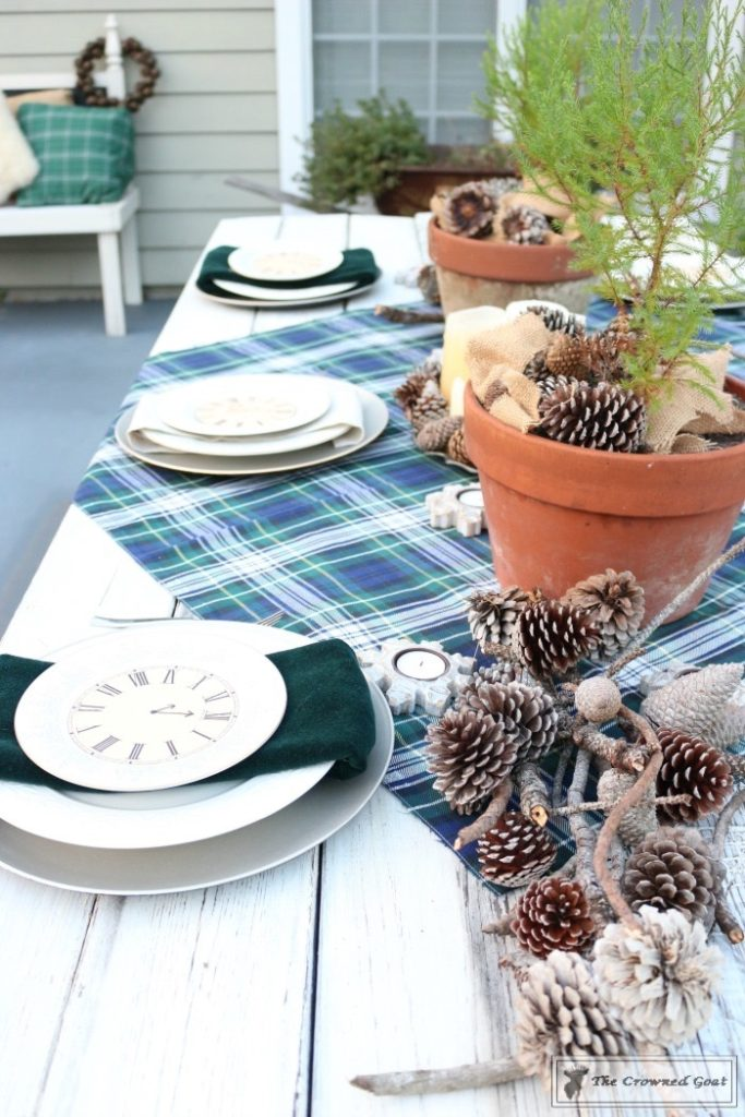 Rustic-New-Years-Tablescape-6-683x1024 Rustic New Year's Tablescape Christmas DIY Holidays