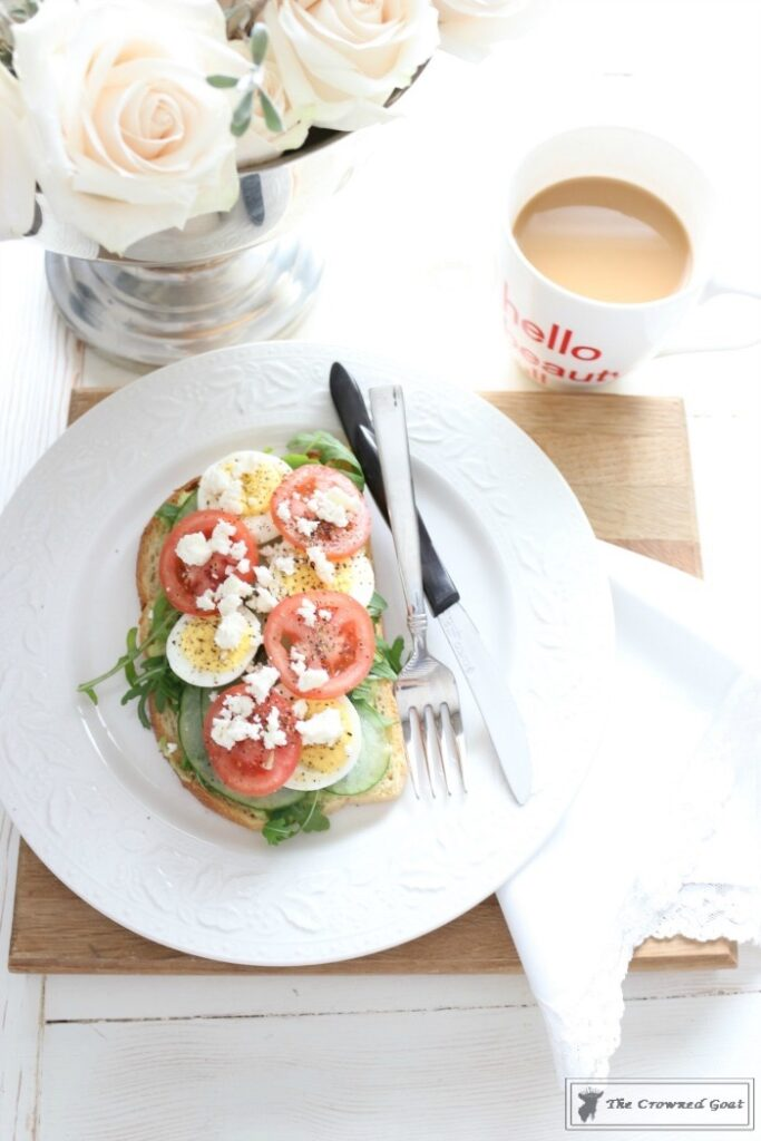 Open-Faced-Breakfast-Sandwich-13-683x1024 Delicious Open-Faced Breakfast Sandwich DIY