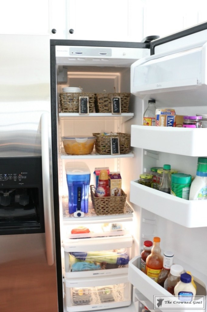Organize-Your-Refrigerator-with-Baskets-10-681x1024 How to Use Baskets to Organize Your Refrigerator Organization