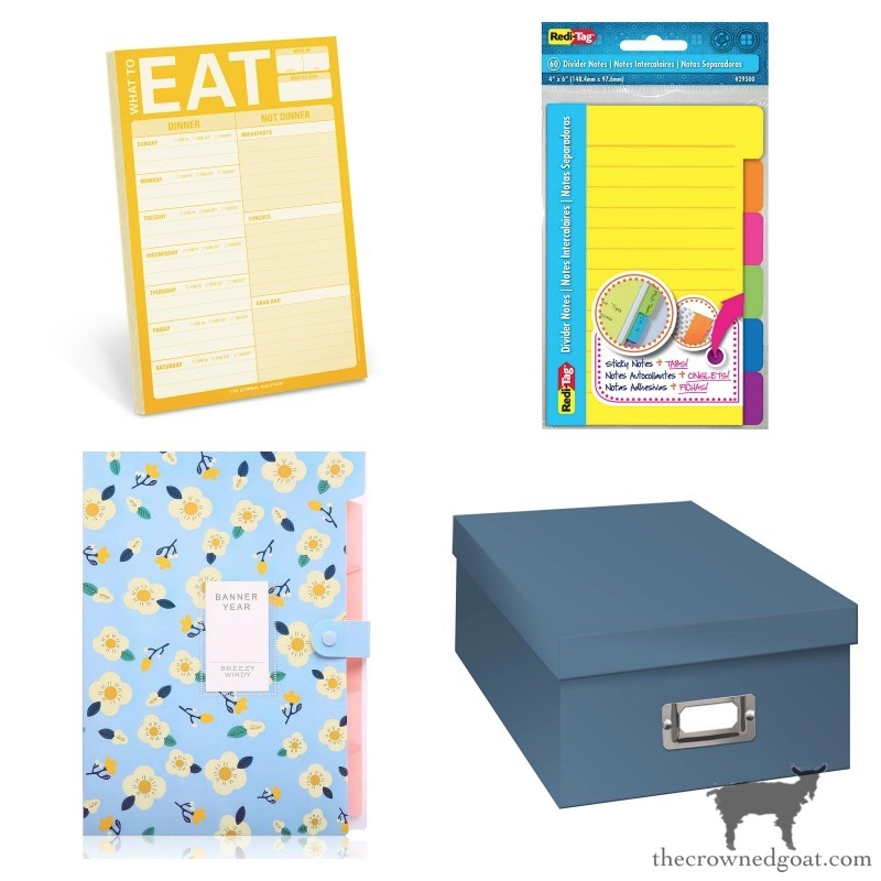 Pads-Planners-and-Paper-Storage-Options Our Favorite Home Organizing Essentials Organization