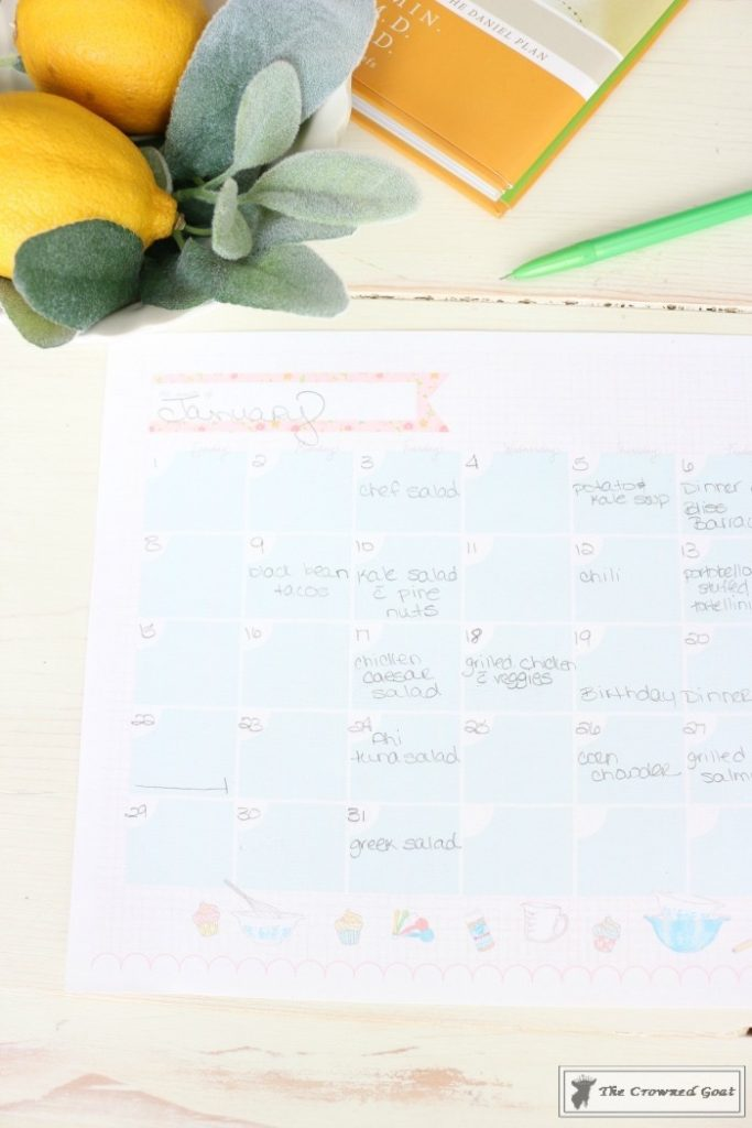 The-Busy-Girls-Easy-Meal-Planning-Guide-3-683x1024 Meal Planning for The Busy Girl DIY Organization