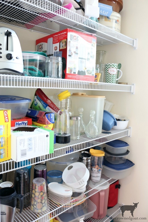 The-Easiest-Way-To-Organize-the-Pantry-and-Refrigerator-The-Crowned-Goat-2 Pantry Organization Tips Made Easy DIY Organization