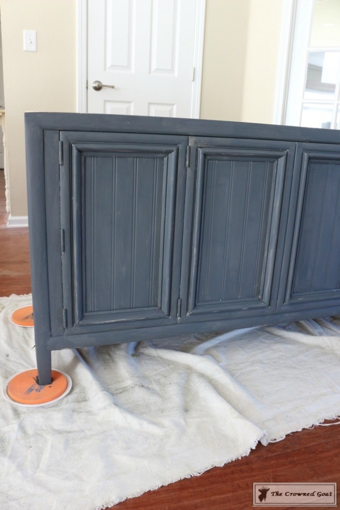 Cottage Console to Boho Chic Media Cabinet Makeover-4