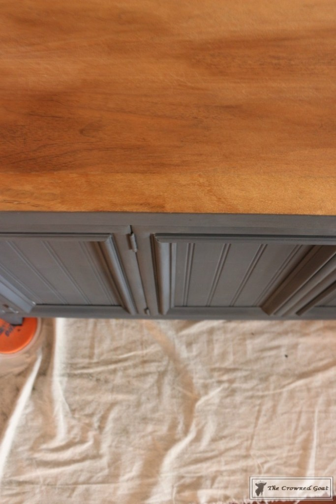 Cottage Console to Boho Chic Media Cabinet Makeover-7