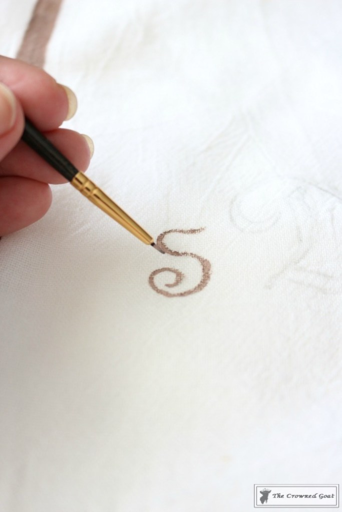 How to Make a Monogrammed Tea Towel-14