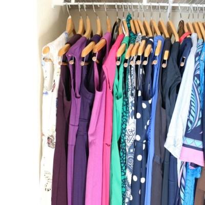 My Closet – One Year After Using the KonMari Method