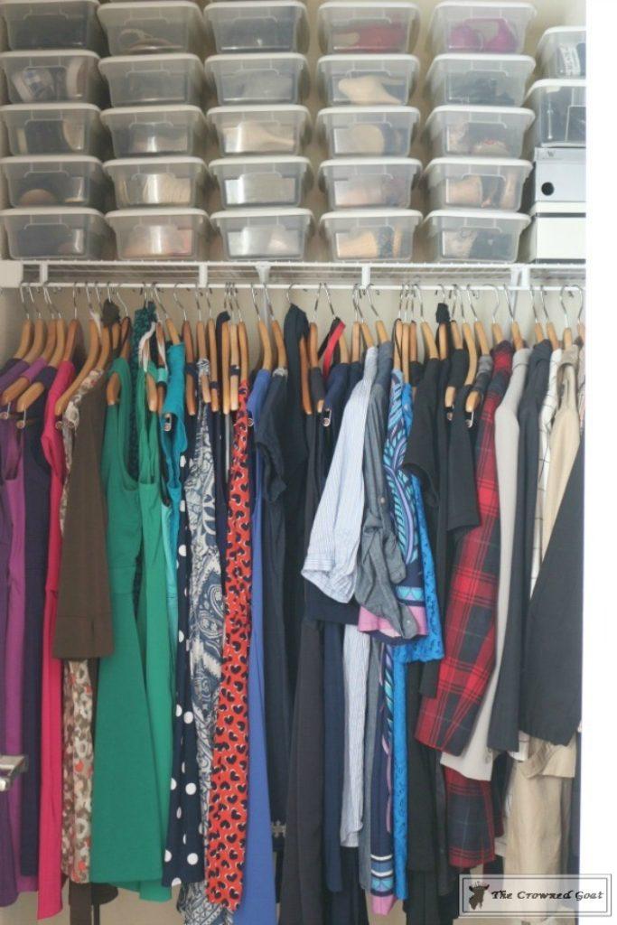 KonMari-Closet-One-Year-Later-6-683x1024 My Closet - One Year After Using the KonMari Method DIY Uncategorized