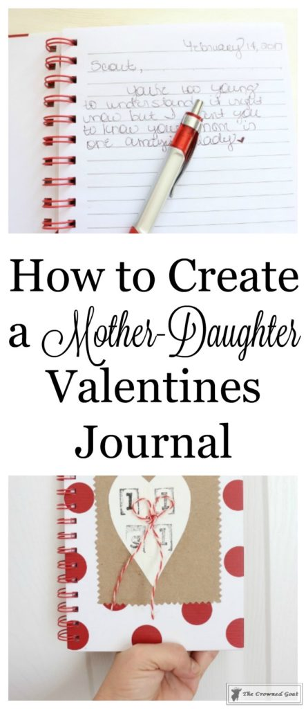 Mother-Daughter-Valentines-Journal-1-443x1024 How to Create a Mother-Daughter Journal DIY