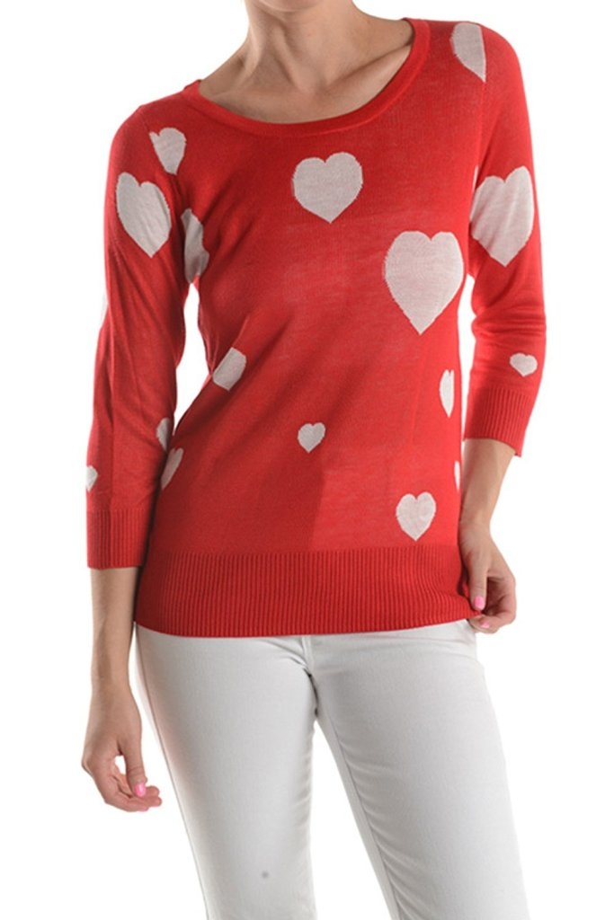 Red Heart Sweater-3