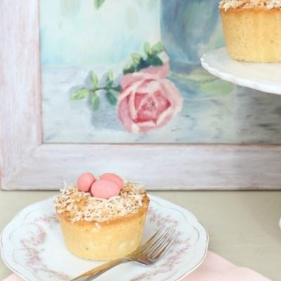 Spring Inspiration: Coconut Mini-Bundt Cakes