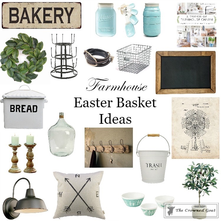 Farmhouse-Easter-Basket-Ideas-The-Crowned-Goat Farmhouse Easter Basket Ideas DIY Holidays